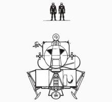 Apollo Lunar Module and Crew by Jacob Thomas