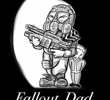 Fallout Dad (Black) by LordXProduction