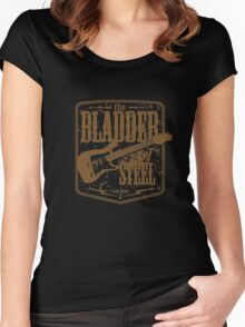 the bladder of steel Women's Fitted Scoop T-Shirt