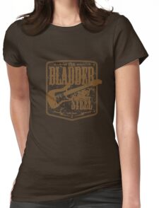 the bladder of steel Womens Fitted T-Shirt