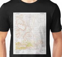 USGS TOPO Map California CA Yucca Valley North 301486 1972 24000 geo Unisex T-Shirt
