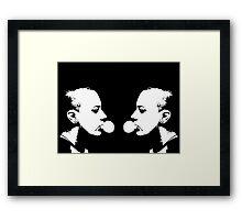 Punk mirror Framed Print
