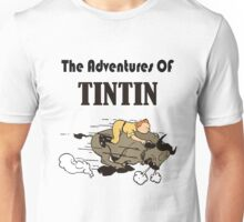 adventures tintin Unisex T-Shirt