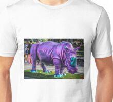 Purple Rhino Unisex T-Shirt