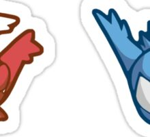 Pokémon / Latios and Latias Sticker