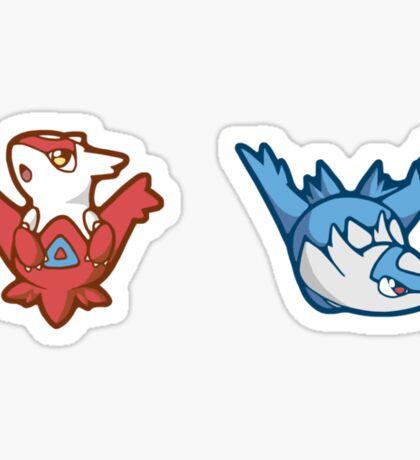 Pokémon / Latios and Latias Sticker
