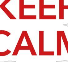 KEEP CALM I AM AUSTRIAN Sticker