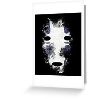 No-Face (Kaonashi)  Greeting Card