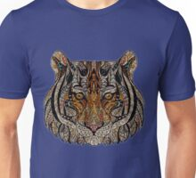 Abstract Face Tiger Unisex T-Shirt