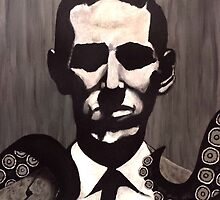 H.P. Lovecraft by VikkiSin