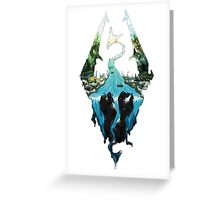 Skyrim dragonborn Greeting Card