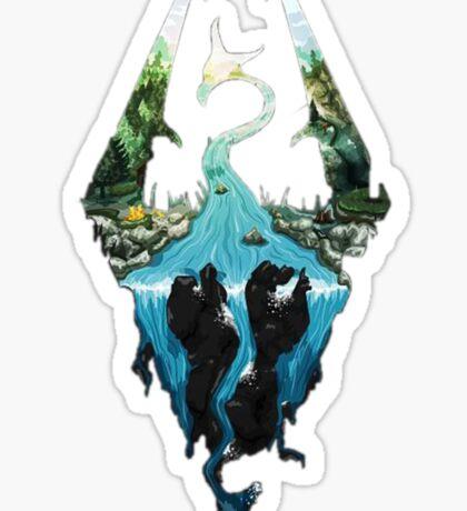 Skyrim dragonborn Sticker