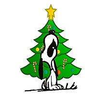 snoopy christmas Photographic Print