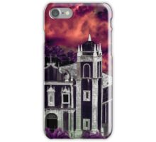 Fantasy Tropical Cityscape Aerial View iPhone Case/Skin