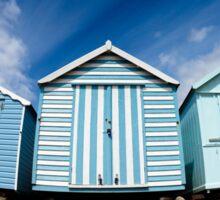 Felixstowe Beach Huts Sticker
