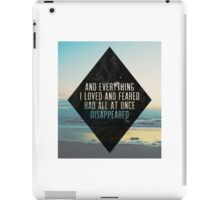 Silver and Gold Lyrics iPad Case/Skin