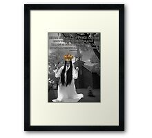 I SHALL WEAR A CROWN>>CROWN OF RIGHTEOUSNESS>> BIBLICAL>> PICTURE AND OR CARD Framed Print
