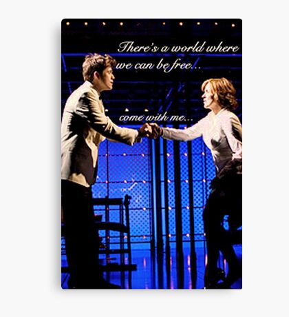 There's A World Canvas Print