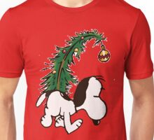 snoopy in christmas Unisex T-Shirt