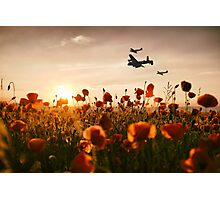 Battle of Britain Boys Photographic Print