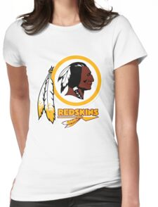 REDSKINS LOGO Womens Fitted T-Shirt