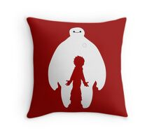 Baymax and Hiro (Big Hero 6) Throw Pillow