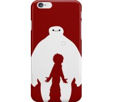 Baymax and Hiro (Big Hero 6) iPhone Case/Skin