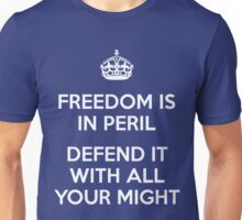 Freedom Is In Peril Unisex T-Shirt
