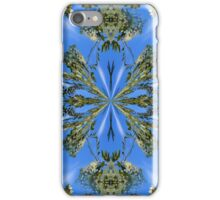 Locust Flower Blossoms Abstract iPhone Case/Skin