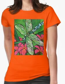 Dragonfly In Pink T-Shirt