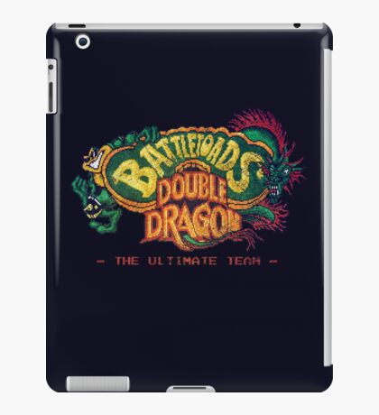 Battletoads + Double Dragon iPad Case/Skin