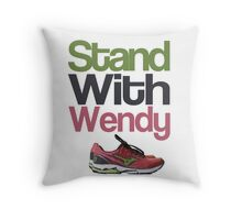 Stand with Wendy Throw Pillow