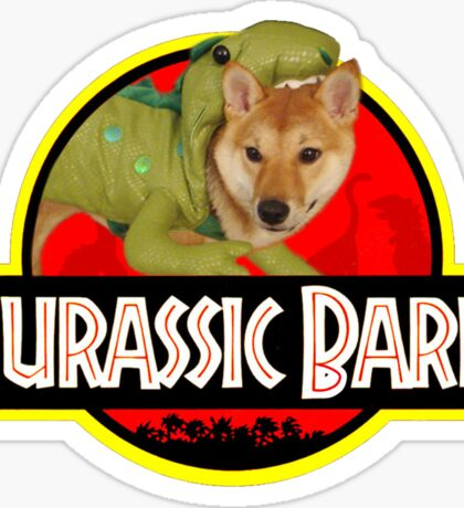 Doggo Stickers: Jurassic Bark Sticker