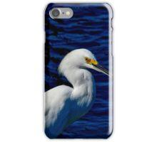 SNOWY EGRET PORTRAIT iPhone Case/Skin