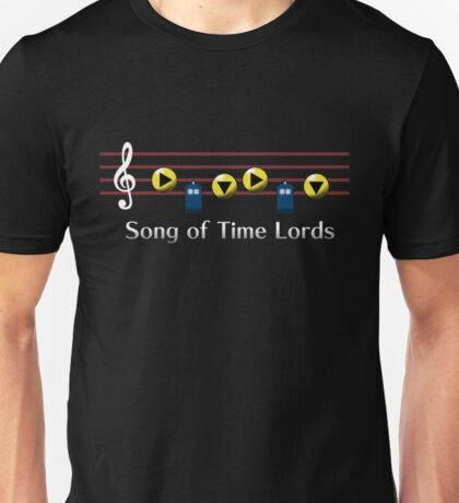 Song of Time Lords Unisex T-Shirt