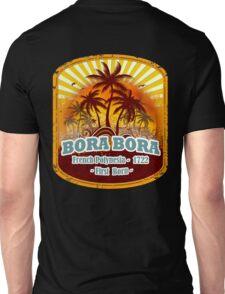 Bora Bora Sunset Paradise Unisex T-Shirt