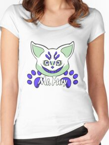 Mr Fury Blue Variant Solo Women's Fitted Scoop T-Shirt