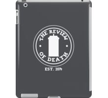 'The Review of Death' Logo iPad Case/Skin