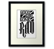 Good Girl Gone Rad Framed Print