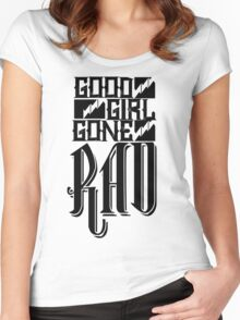Good Girl Gone Rad Women's Fitted Scoop T-Shirt