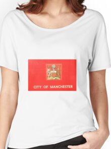 City of Manchester - crest Women's Relaxed Fit T-Shirt