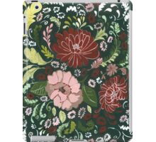 Dark Floral Tapestry iPad Case/Skin