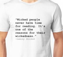 Time For Reading Unisex T-Shirt