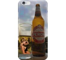 I DON'T REMEMBER ..I DON'T RECALL..I HAVE NO MEMORY OF IT AT ALL>>THATS JUST DRINKIN THINKIN>>BEER PICTURE /CARD iPhone Case/Skin