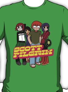 Scott Pilgrim odds & ends v3 T-Shirt