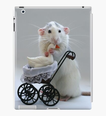 The goose who was adopted... iPad Case/Skin
