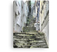 The Streets of Bergen (3) Canvas Print
