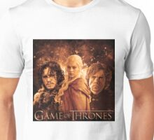 Game Of Thrones | John Snow, DaenerysTargaryen, Tyrion Lannister Unisex T-Shirt
