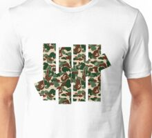 undefeated camo army Unisex T-Shirt
