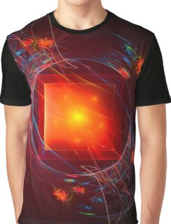Red Square Graphic T-Shirt